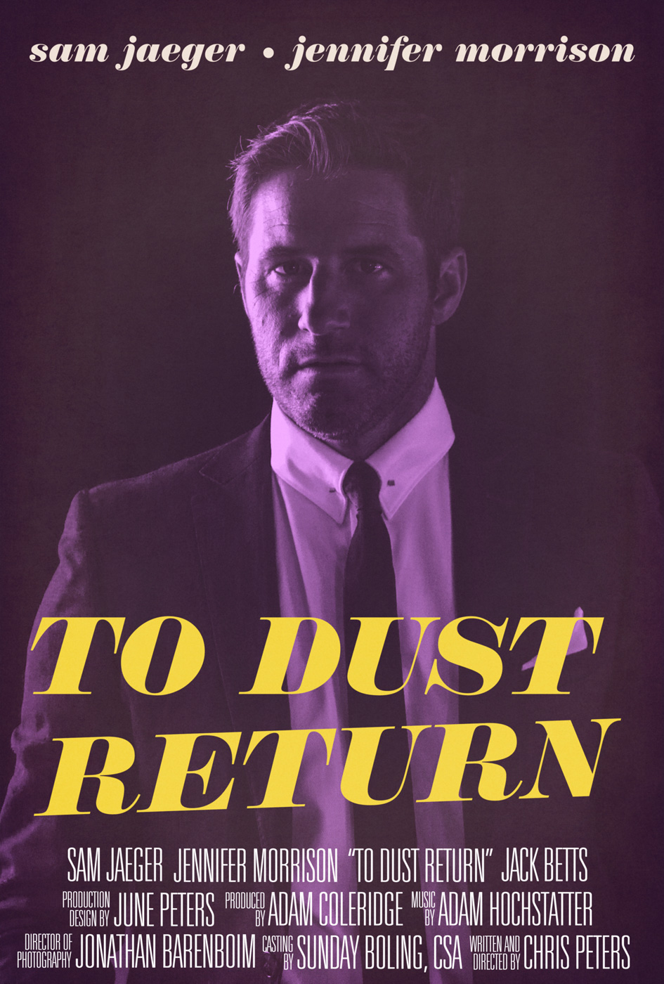 Movie Poster - To Dust Return